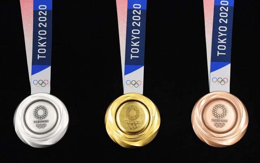 Медали Олимпиады в Токио-2020. Фото Getty