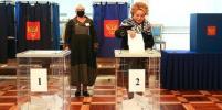 Валентина Матвиенко проголосовала на выборах в Санкт-Петербурге