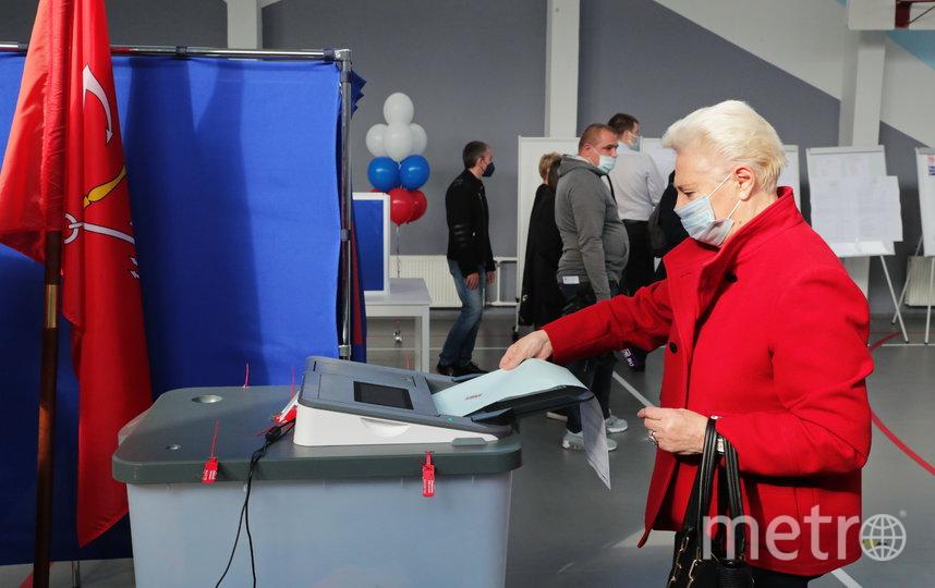 Голосование проходило на 96 тысячах избирательных участков по всей России. Фото https://www.gov.spb.ru