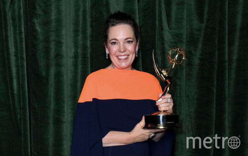 Оливия Колман получила награду за лучшую женскую роль в драматическом сериале. Фото Getty