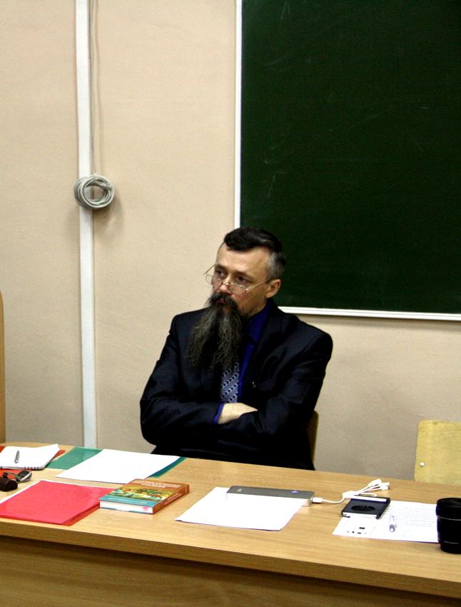 Олег Сыромятников в ПГНИУ. Фото vk.com