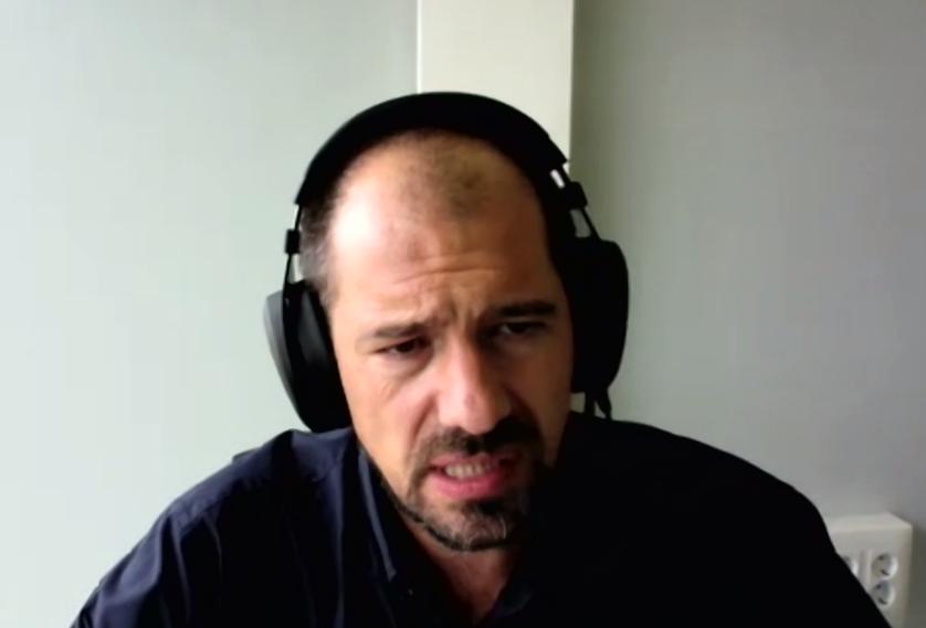 Эксперт из Каталонии предлагает создать лигу ДЭГ. Фото скриншот конференции