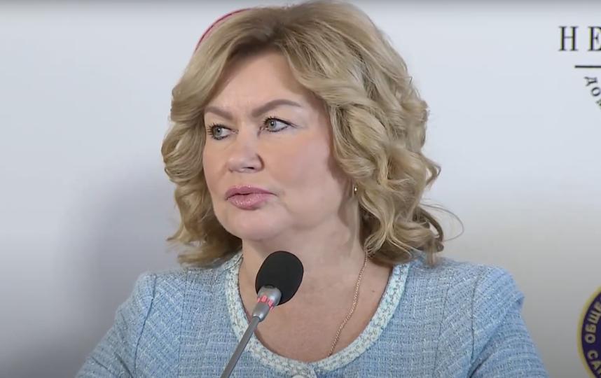 Наталья Чечина. Фото Скриншот пресс-конференции