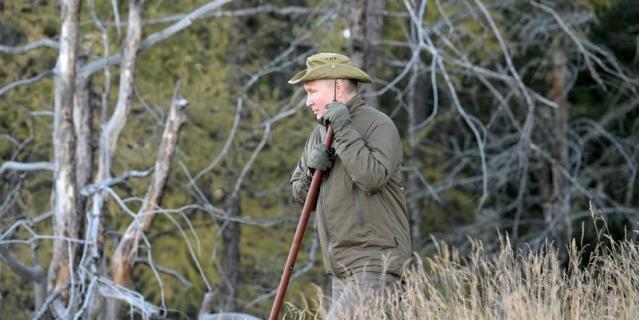 Президент России провел несколько дней в отпуске в Сибири.