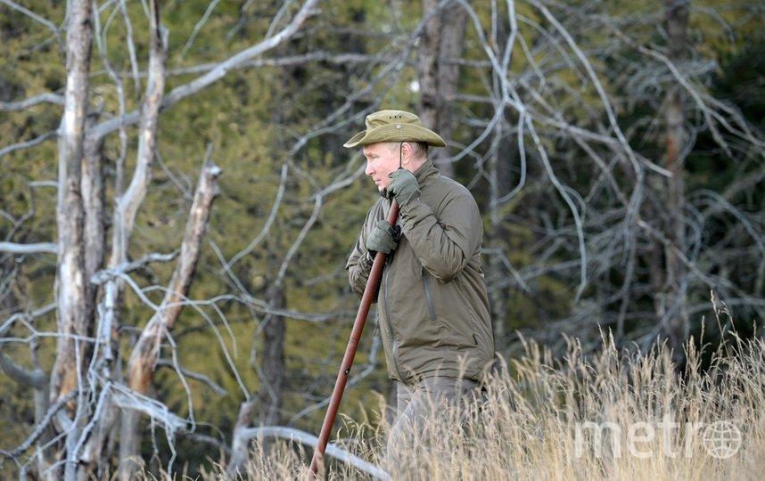 Президент России провел несколько дней в отпуске в Сибири. Фото http://kremlin.ru/