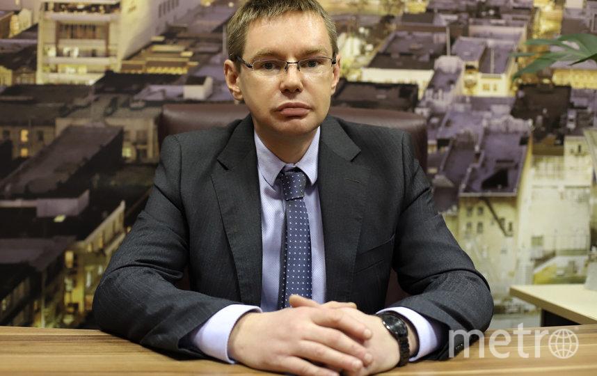"""Игорь Аболемов, генеральный директорАН """"Доли.ру""""."""