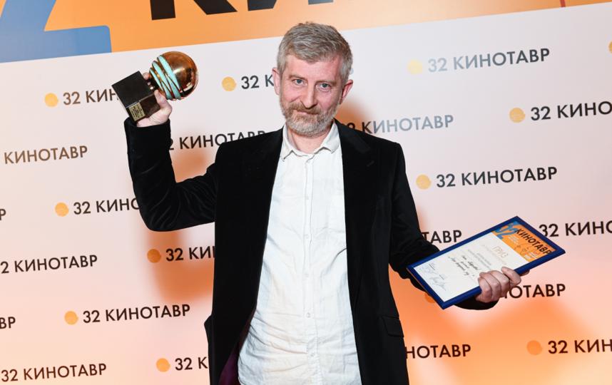 """Николай Хомерики получил приз за фильм с очень личной историей. Фото Пресс-служба """"Кинотавра"""""""