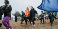 На берегу Финского залива прошел плоггинг-забег: сколько килограмм мусора удалось собрать