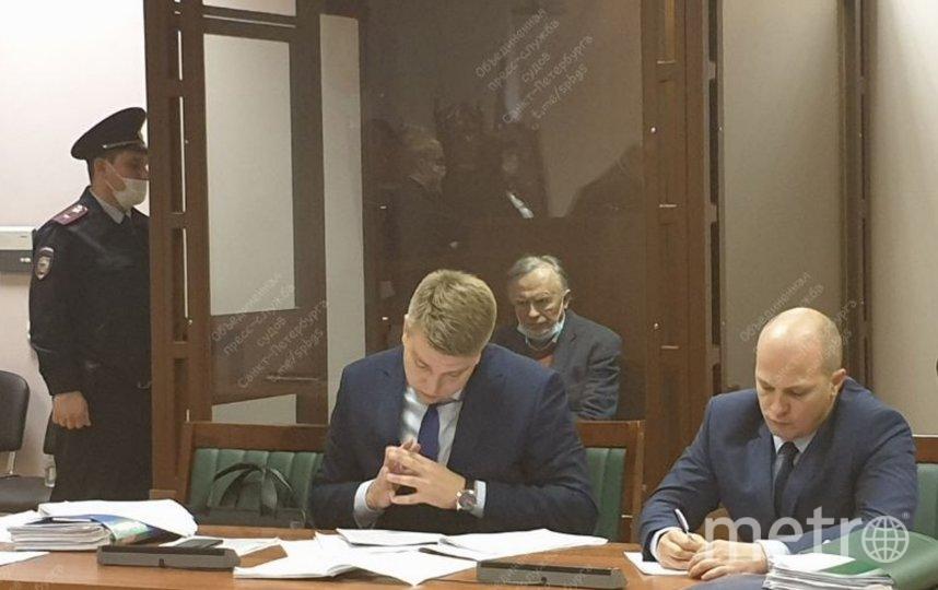 Историк Соколов разрыдался в суде. Фото Объединенная пресс-служба судов Петербурга.