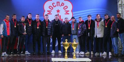 Игорь Акинфеев вдохновил промышленников на успех