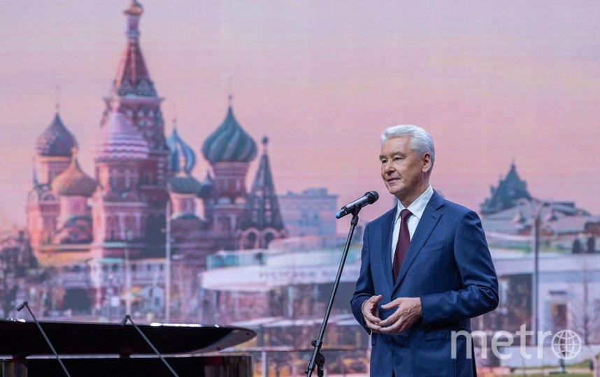 Сергей Собянин. Фото Владимир Новиков, пресс-служба мэра и правительства Москвы