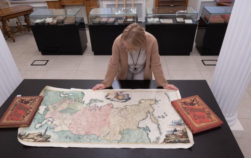 """Это переизданный вариант карты 1776 года, разработанной И. Трескоттом и Я. Шмидтом. Фото Святослав Акимов, """"Metro"""""""