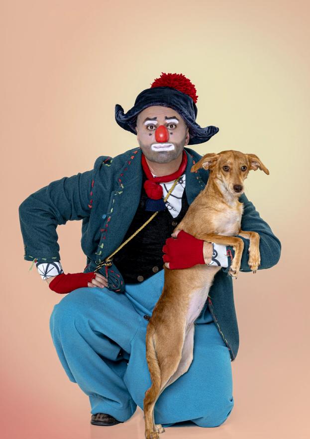 15 собак и 11 клоунов приняли участие в фотосессии. Фото Все фото: Ирина Мызина, Виктор Чернышов.