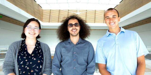 Команда исследователей: Джесси Лю, Дэвид Мозес и Шон Мецгер.