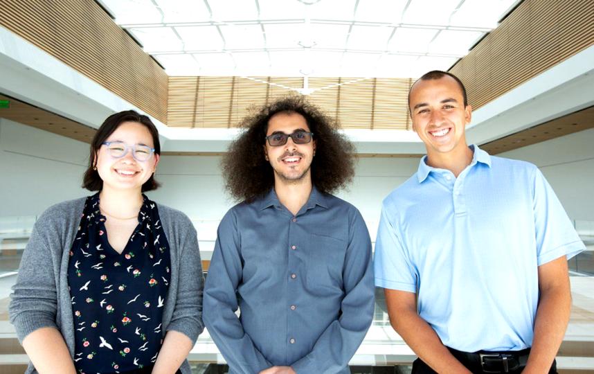 Команда исследователей: Джесси Лю, Дэвид Мозес и Шон Мецгер. Фото Фото предоставлены героем публикации.