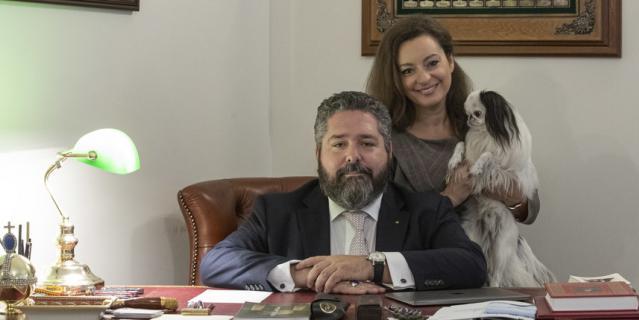 Великий князь Георгий Романов с супругой Ребеккой Беттарини планируют обосноваться в Москве.