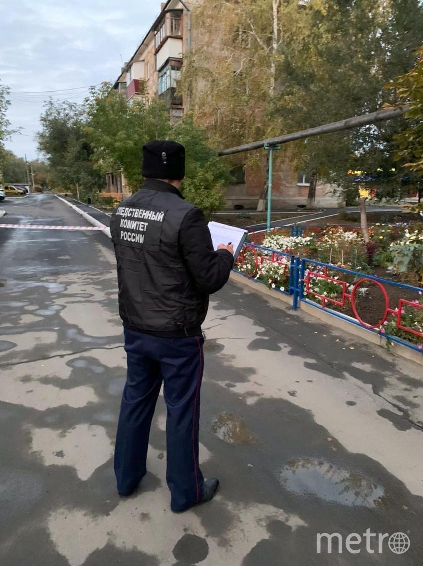 СК также показал видео из квартиры, где было совершено убийство. Фото oren.sledcom.ru.