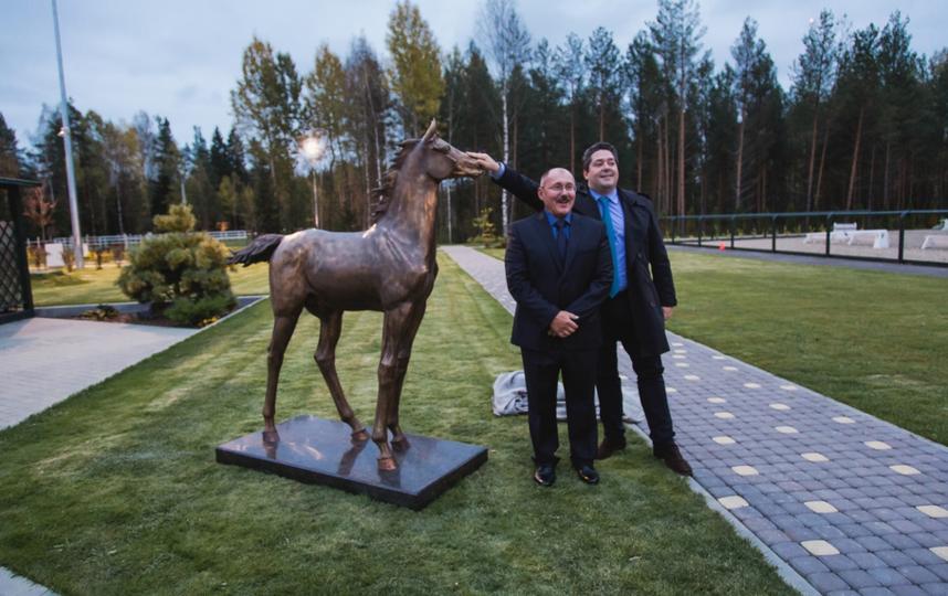 Александр Чернощеков сделал скульптуру для князя Георгия Романова. Фото Предоставлено героем публикации