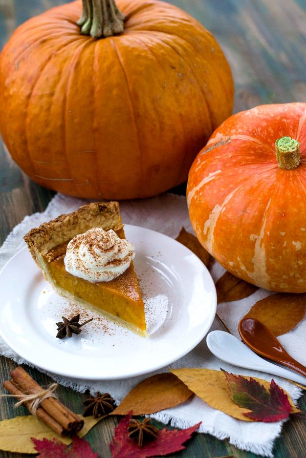 Приготовьте тыквенный пирог по любимому рецепту Гарри Поттера. Фото pixabay