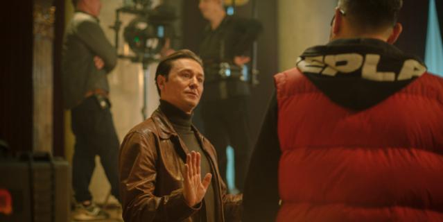 Сергей Безруков исполняет роль майора Бессонова.