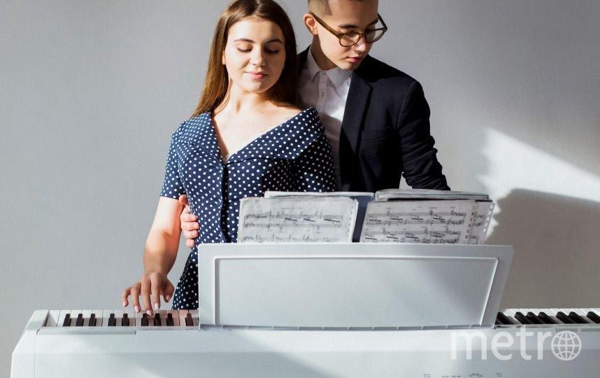 Цифровое пианино.