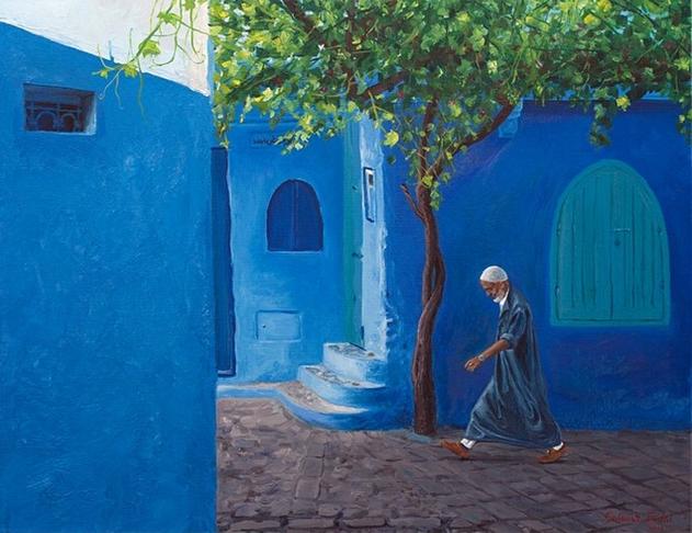 Картины Салавата Фидаи в начале его творческого пути. Фото Instagram @salavat.fidai