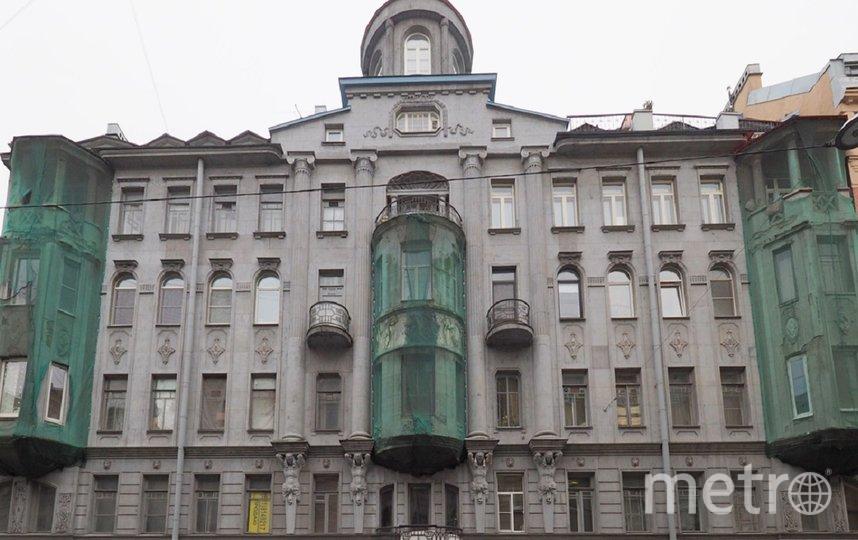 Дом А.Н. Васильева. Фото gov.spb.ru.