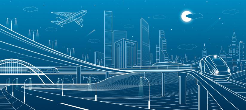 Текущая средняя скорость коммерческих самолётов (между 810 и  900 км/час) и сверхскоростных поездов (между 250 и 600 км/час) достаточно высокая. Однако инновационные проекты стремятся сделать её ещё выше. Фото AGENCIA