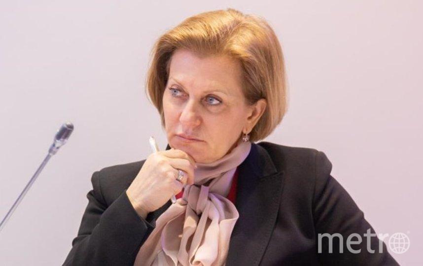 Глава Роспотребнадзора Анна Попова. Фото  Роспотребнадзор.