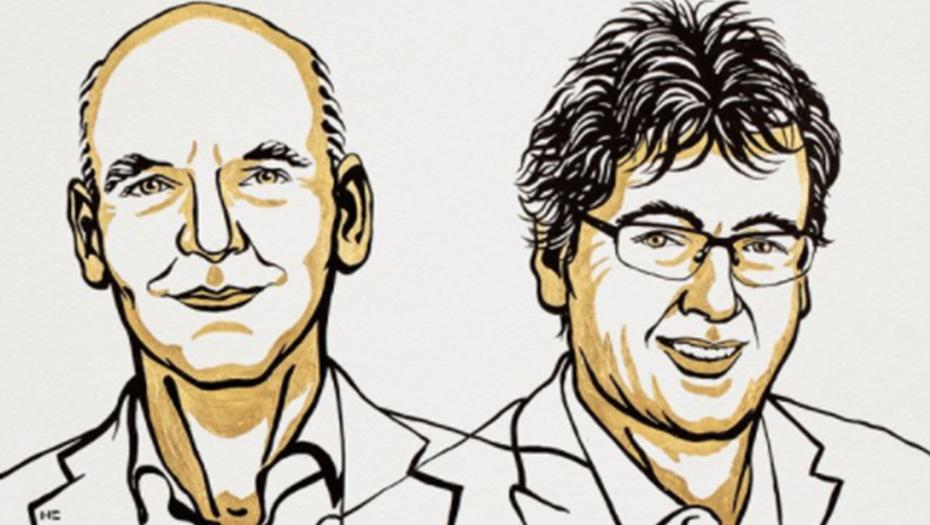 Нобелевскую премию по химии получили Лист и Макмиллан за новые методы синтеза молекул. Фото twitter.com/NobelPrize.
