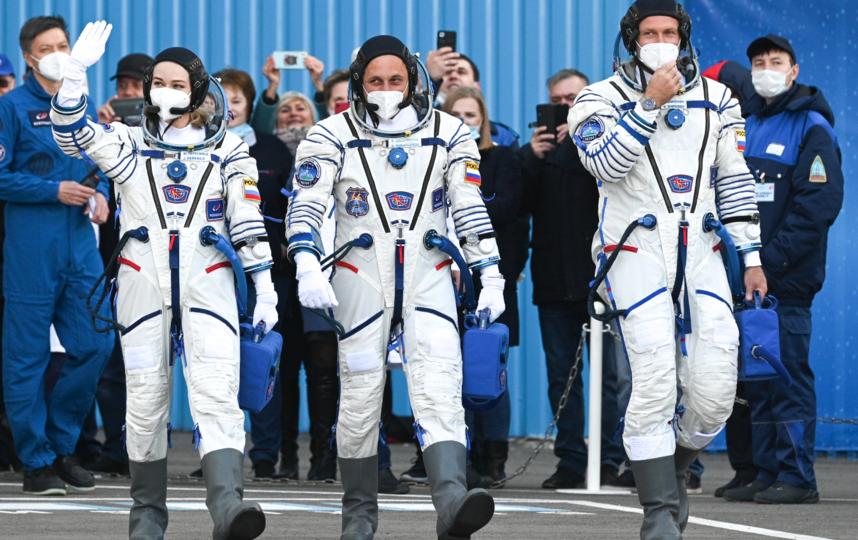 За минуты до старта. Фото Сергей Савостьянов, РИА Новости