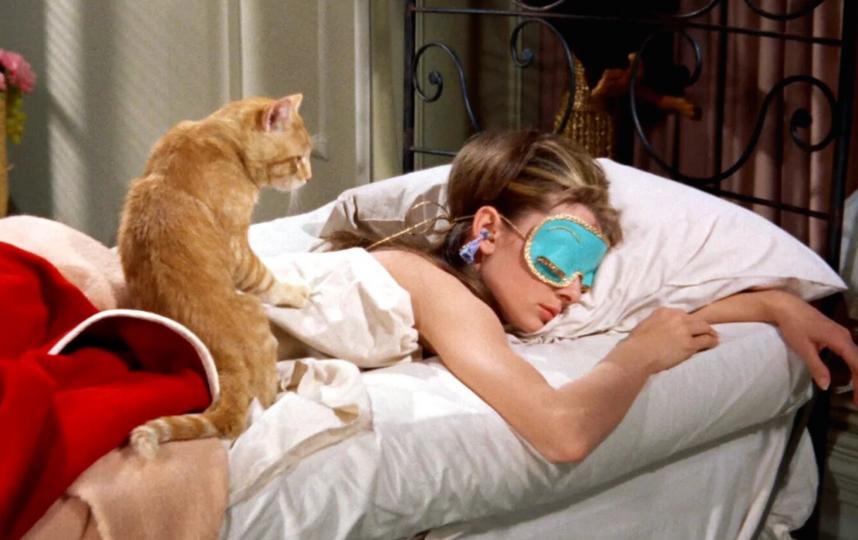 """Кадр из фильма """"Завтрак у Тиффани""""."""