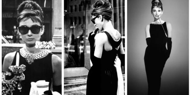 Знаменитое черное платье.