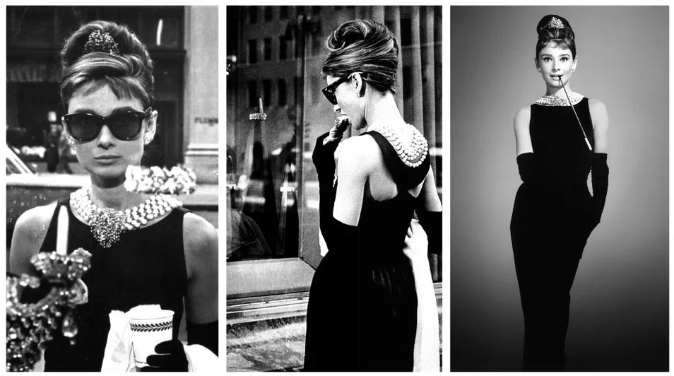 Знаменитое черное платье. Фото Getty
