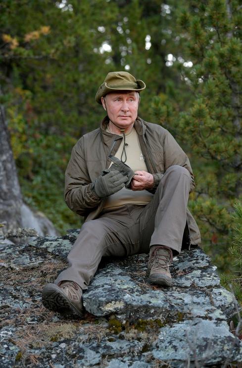 Отпуск в Сибирском федеральном округе. Фото kremlin.ru
