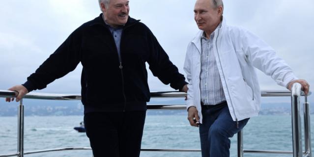 Неформальная встреча с президентом Белоруссии Александром Лукашенко.