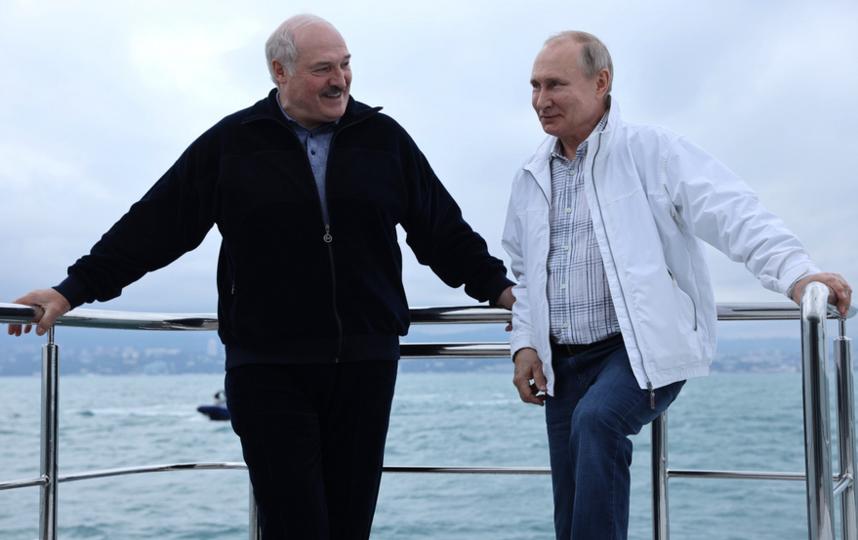 Неформальная встреча с президентом Белоруссии Александром Лукашенко. Фото kremlin.ru
