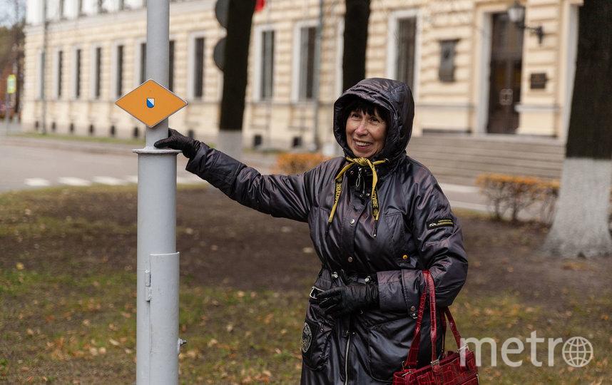 Фонарь с гербом Цюриха установили на территории Кировского завода. Фото Предоставлено организаторами