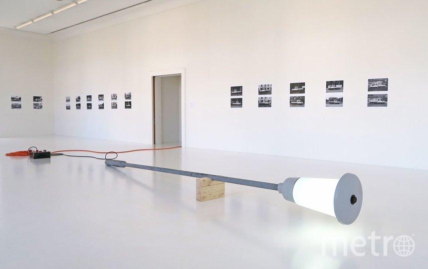 Петербургский фонарь пока находится в швейцарском музее. Фото Предоставлено организаторами