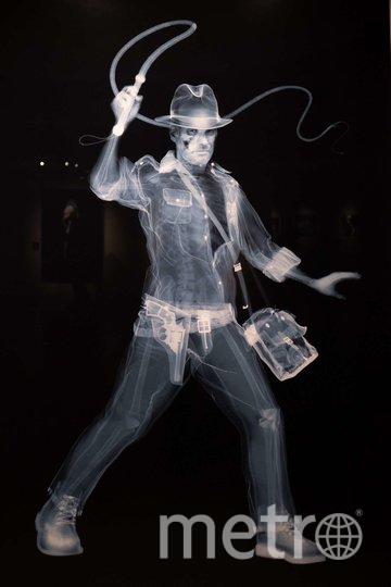 """Образ Индианы Джонса создан с помощью скелета женщины из Индии, погибшей в 1970-х годах. Фото Святослав Акимов, """"Metro"""""""