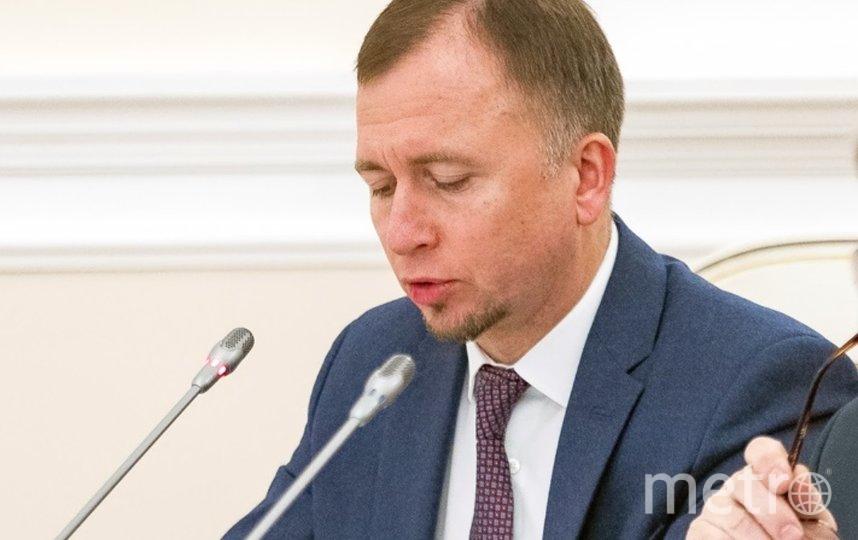 Дмитрий Лисовец. Фото  комитет по здравоохранению Петербурга.