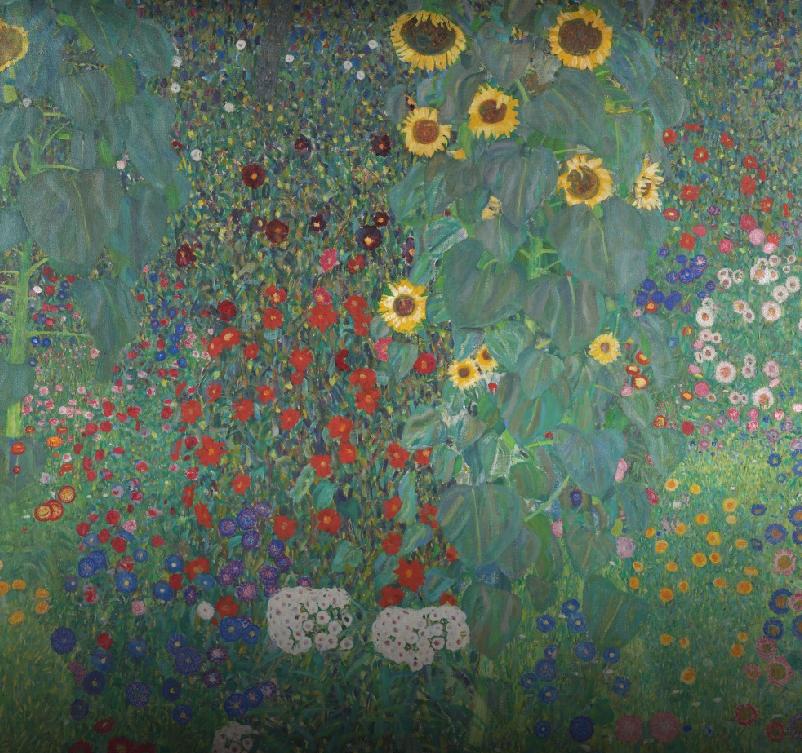 Фермерский сад с подсолнухами. Фото Скриншот Art&Culture Google.