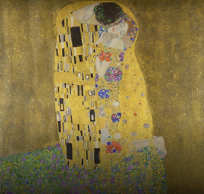 """""""Поцелуи"""". Фото Скриншот Art&Culture Google."""