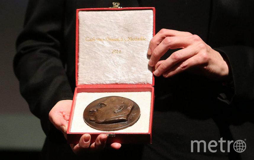 Медаль Нобелевской премии, архивное фото. Фото Getty
