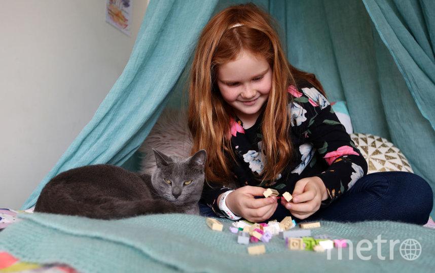 Согласно исследованию, лишь 24% родителей стремятся поощрять играть в Lego дочерей. Фото Getty