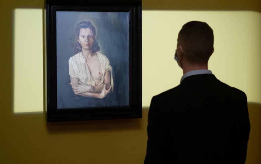 """Картину """"Галарина"""" впервые вывезли за пределы Театра-музея Дали в Фигерасе. Фото Святослав Акимов, """"Metro"""""""