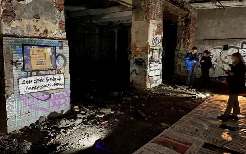 """Выставка """"Руины Петербурга"""". Фото https://vk.com/gorodperemen_spb"""