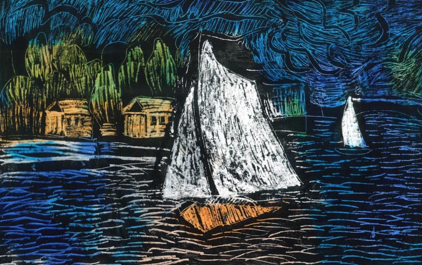 """Всего на выставке представлено 100 рисунков. Фото Предоставлено АНО """"Колесо обозрения""""."""