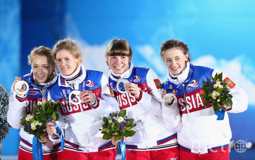 Ольга Зайцева, Яна Романова, Екатерина Шумилова и Ольга Вилухина. Фото Getty