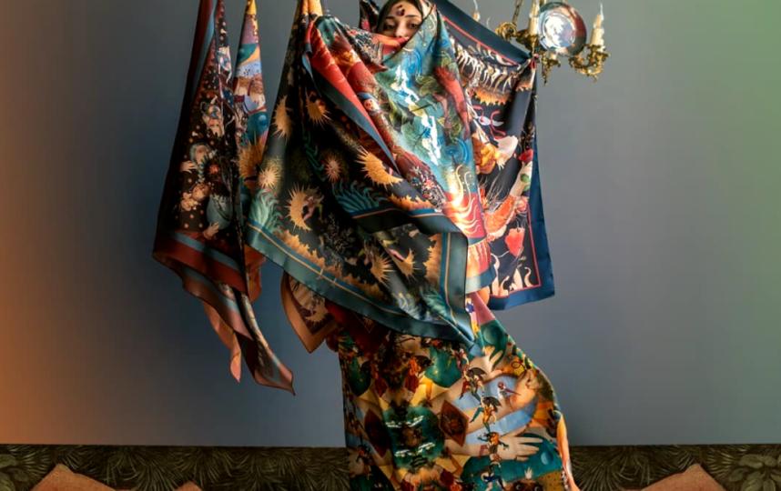 Коллекция Анастасии Курбатовой. Фото Предоставлено организаторами